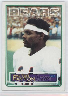 1983 Topps - [Base] #36 - Walter Payton