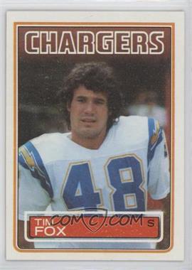 1983 Topps - [Base] #375 - Tim Fox