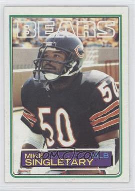 1983 Topps - [Base] #38 - Mike Singletary