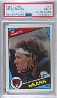 Jim McMahon [PSA/DNA Certified Encased]