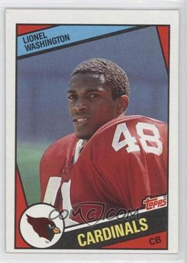 1984 Topps - [Base] #348 - Lionel Washington