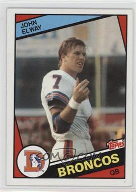 1984 Topps - [Base] #63 - John Elway