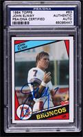 John Elway [PSA/DNA Certified Encased]