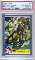 Eric Dickerson [PSA Authentic PSA/DNA Cert]