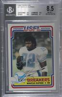 Marcus Dupree [BGS 8.5 NM‑MT+]