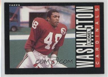 1985 Topps - [Base] #147 - Lionel Washington