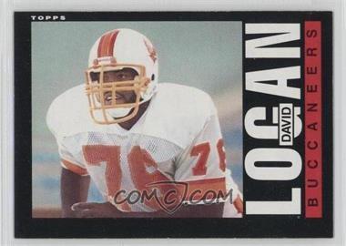 1985 Topps - [Base] #173 - David Logan