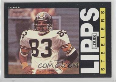 1985 Topps - [Base] #358 - Louis Lipps
