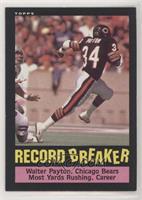 Record Breaker - Walter Payton