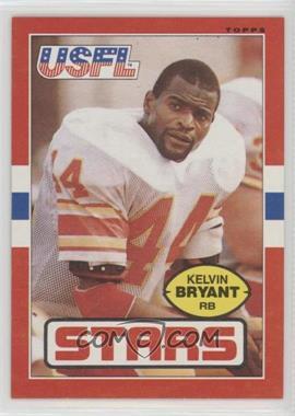 1985 Topps USFL - [Base] #10 - Kelvin Bryant