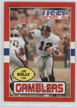 1985 Topps USFL - [Base] #45 - Jim Kelly