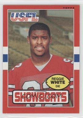 1985 Topps USFL - [Base] #75 - Reggie White
