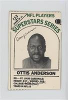 Ottis Anderson [Noted]