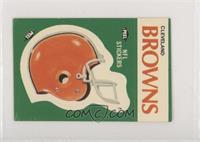 Cleveland Browns (Helmet)