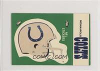 Indianapolis Colts (Helmet; Double Bubble)