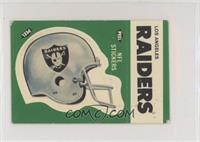 Los Angeles Raiders (Helmet, Soft Bubble Gum)