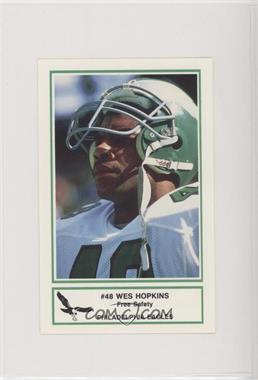the latest ce54b 75946 1986 Frito Lay Philadelphia Eagles Police - [Base] #8 - Wes ...