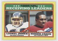 Lionel James, Roger Craig