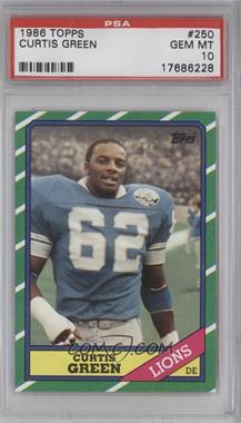 1986 Topps - [Base] #250 - Curtis Green [PSA10]