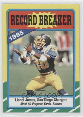 1986 Topps - [Base] #3 - Lionel James