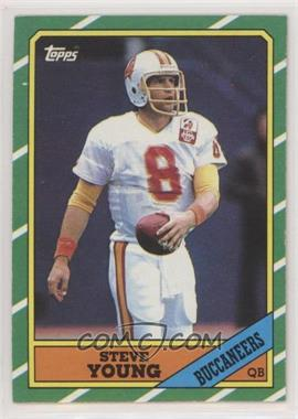 1986 Topps - [Base] #374 - Steve Young