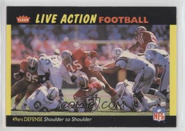 1987 Fleer Live Action Football - [Base] #50 - San Francisco 49ers Team