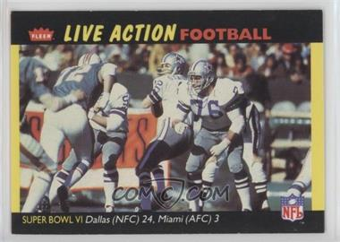 1987 Fleer Live Action Football - [Base] #70 - Dallas Cowboys Super Bowl