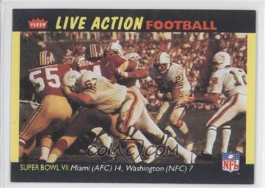 1987 Fleer Live Action Football - [Base] #71 - [Missing]