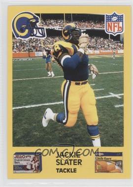 1987 Jell-O Los Angeles Rams - [Base] #78 - Jackie Slater