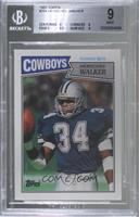 Herschel Walker (Running Back in Light Blue) [BGS 9 MINT]
