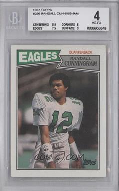 1987 Topps - [Base] #296 - Randall Cunningham [BGS4]