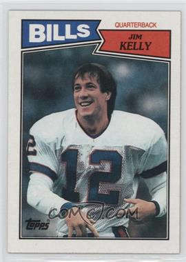 1987 Topps - [Base] #362 - Jim Kelly