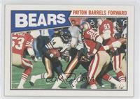 Chicago Bears - Payton Barrels Forward