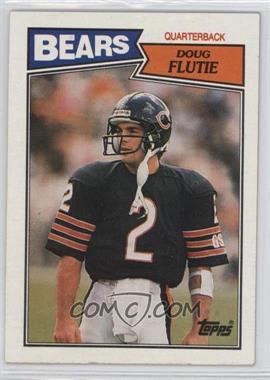 1987 Topps - [Base] #45 - Doug Flutie