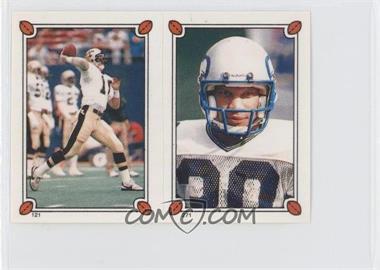 1987 Topps Album Stickers - [Base] #271-121 - Dave Wilson, Bobby Joe Edmonds