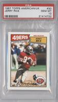 Jerry Rice [PSA 10 GEM MT]