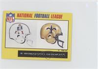 New England Patriots, New Orleans Saints