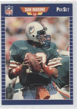 1988 Pro Set Test - [Base] #1 - Dan Marino