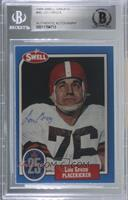 Lou Groza [BGS Authentic]