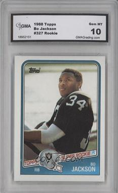 1988 Topps - [Base] #327 - Bo Jackson [ENCASED]