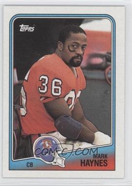 1988 Topps - [Base] #35 - Mark Haynes
