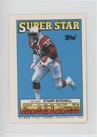 Stump Mitchell (Steve McMichael 10, Norm Johnson 256)