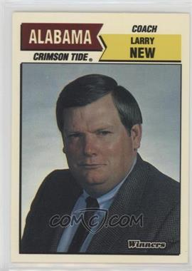 1988 Winners Alabama Crimson Tide - [Base] #LANE - Larry New