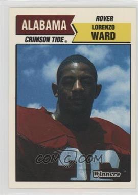 1988 Winners Alabama Crimson Tide - [Base] #LOWA - Lorenzo Ward