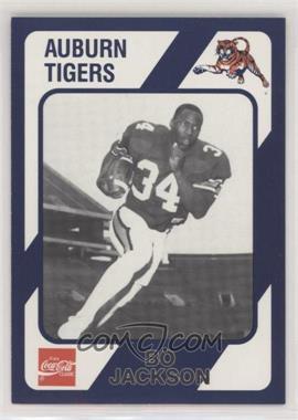 1989 Collegiate Collection Auburn Tigers - [Base] #132 - Bo Jackson