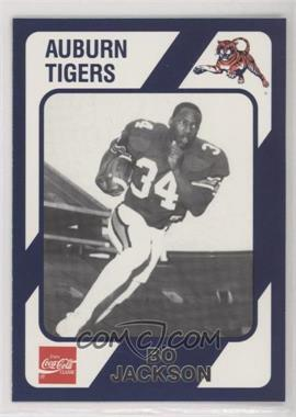 1989 Collegiate Collection Auburn Tigers - [Base] #132.1 - Bo Jackson