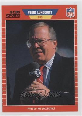 1989 Pro Set - Announcers #21 - Verne Lundquist