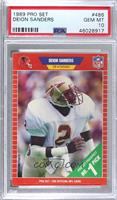Deion Sanders [PSA 10 GEM MT]
