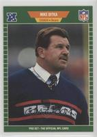 Mike Ditka (No Hall of Fame Stripe on Front)