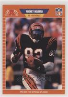 Rodney Holman (BENGALS in all caps)